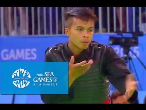 Pencak Silat Tanding Category PHI vs LAO(Day 6) | 28th SEA Games Singapore 2015