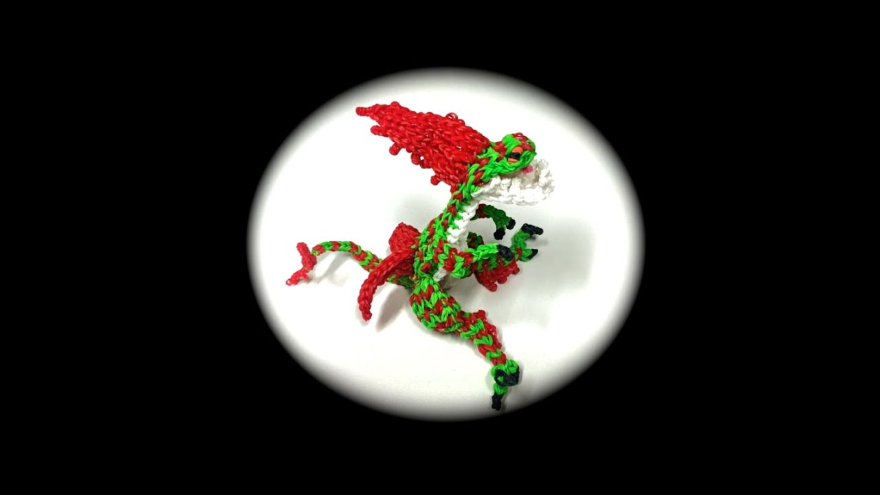 How To Loom Your Dragon Speed Stinger Adult Youtube