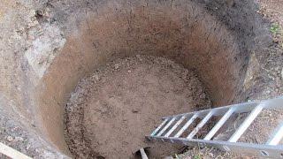 видео Канализация из покрышек: глубина ямы, как выкопать правильно?