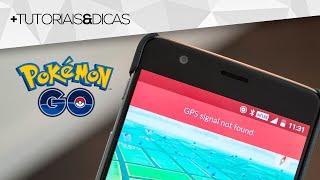Como resolver o ERRO / PROBLEMA de GPS no Pokémon GO (GPS signal not found)