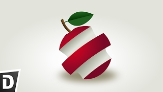 Gambar cover Apple Logo Inkscape Tutorial