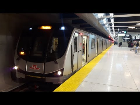 TTC Ride On The York-Spadina Subway Extension