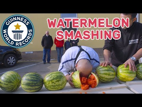 Tafzi Ahmed: Watermelon Headbanger – Meet The Record Breakers Europe