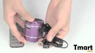 2897 Resonant Speaker with TF Slot Purple-81006096
