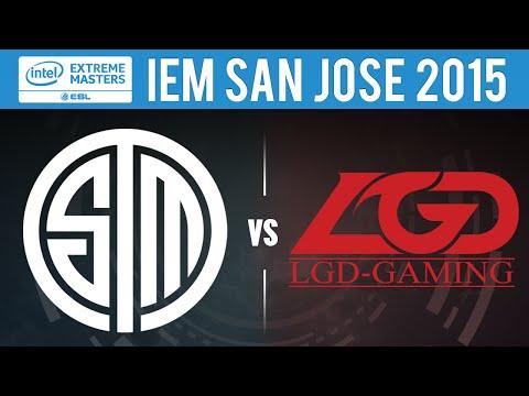 TSM vs LGD Game 1 - IEM San Jose 2015 Quarterfinals