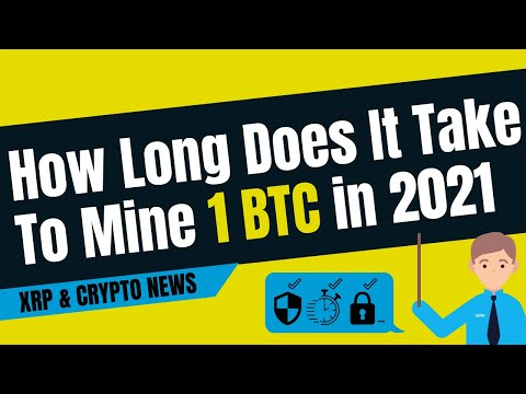 How Long Does It Take To Mine 1 BTC in 2021?