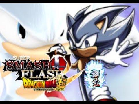 SSF2 Mods - Sonic Mastered Ultra Instinct!!!