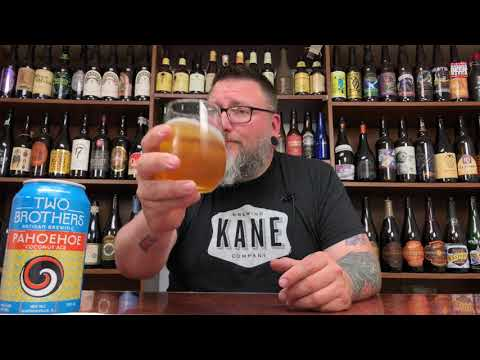 Massive Beer Review 1589 Two Brothers Brewing Pahoehoe Coconut Ale