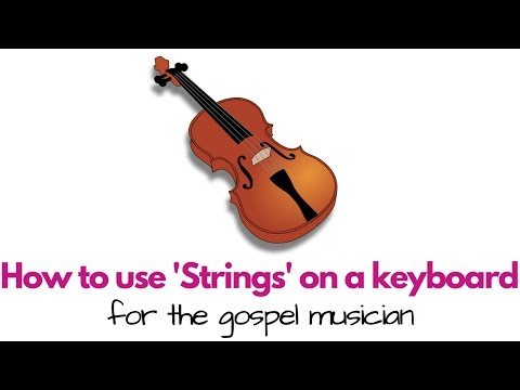 """How to play strings on a keyboard 