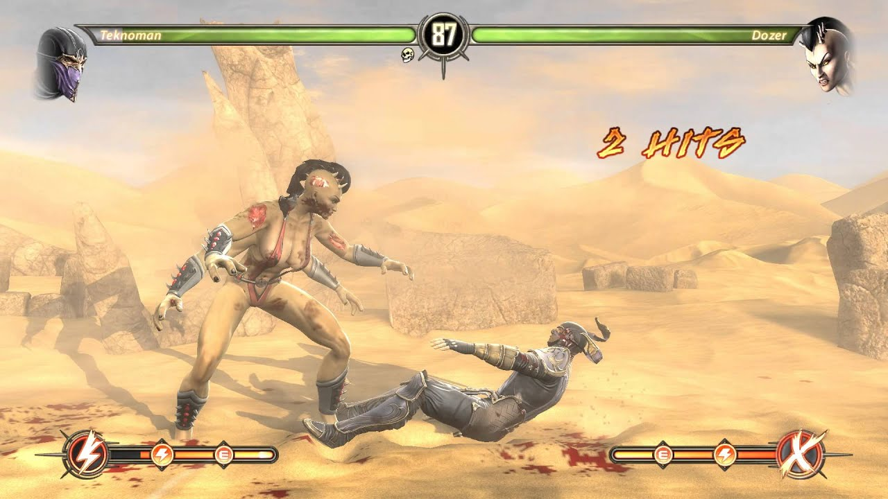 Mortal Kombat Komplete Edition: Capitulo 2 - Sonya Blade - Modo Historia - Español - PC - HD