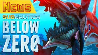 ЛЕВИАФАН-КРЕВЕТКА Chelicerate●Subnautica BELOW ZERO News #15