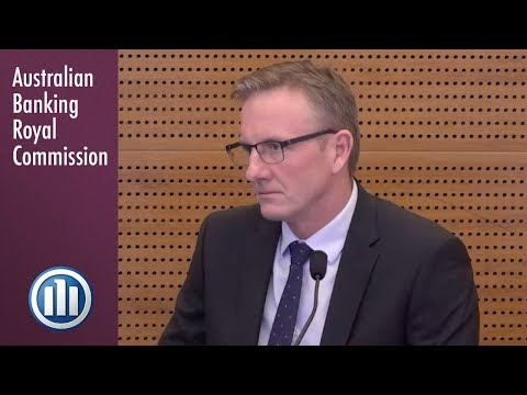 The Head of Retail at Allianz Insurance testifies at the Banking Royal Commission