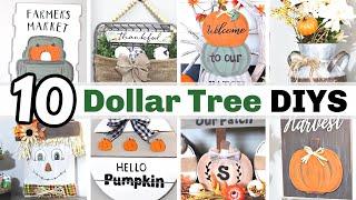 WOW!?! $1 DIY FALL DECOR CRAFTS | 🍁 BEST FALL DOLLAR TREE DIY DECOR IDEAS 2020 | Krafts by Katelyn