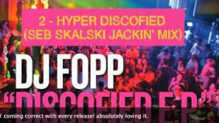 DJ Fopp - Discofied EP (All Versions) - Look At You Records