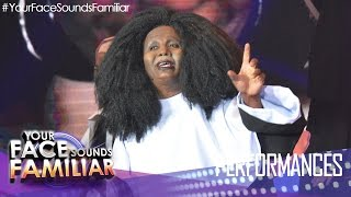 "Your Face Sounds Familiar: Eric Nicolas as Whoopi Goldberg - ""I Will Follow You"""