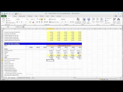 Financial Modeling Quick Lesson: Building a Discounted Cash Flow (DCF) Model - Part 1