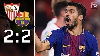 vuclip Barca schockt Bayern-Gegner Sevilla: FC Sevilla – FC Barcelona 2:2 | Highlights | LaLiga | DAZN
