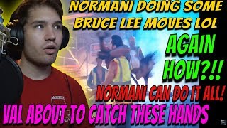 Normani and Vals Salsa - Dancing with the Stars REACTION! val is catching these hands