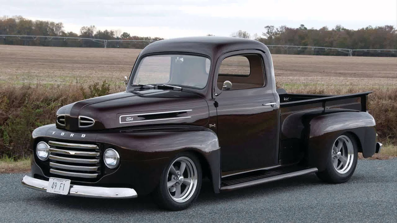 1949 ford pickup youtube. Black Bedroom Furniture Sets. Home Design Ideas