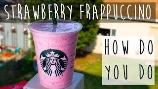 Strawberry Frappuccino || Starbuck