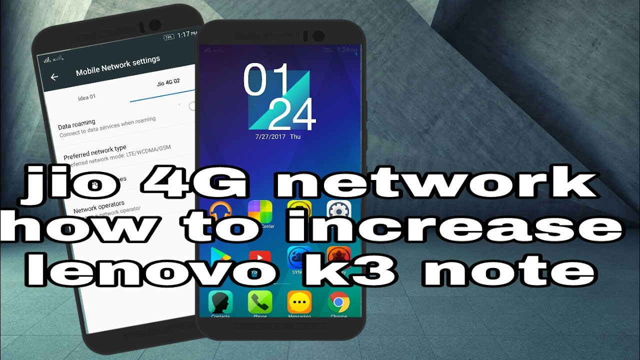 Jio APN settings for Lenovo K3 Note - Jio APN Settings