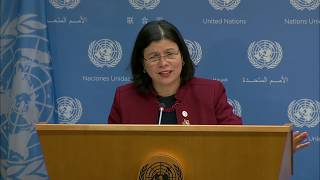 Daily Briefing by the Spokesperson for the President of the General Assembly, Ms. Monica Grayley thumbnail