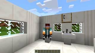 Minecraft Mod: Monte Um Banheiro No Minecraft - Furniture Mod