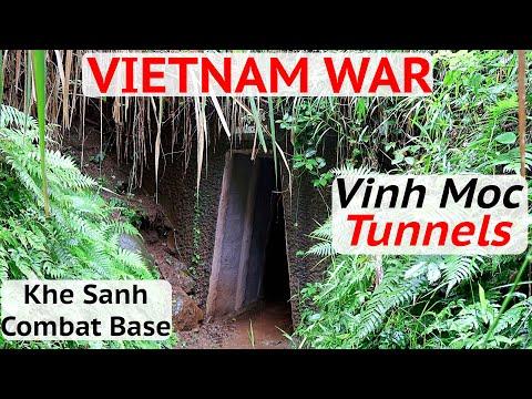 Khe Sanh Combat Base & Vinh Moc tunnels/museum -Vietnam