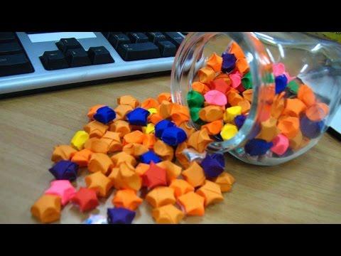 Cara Membuat Bintang Kecil Dengan Kertas