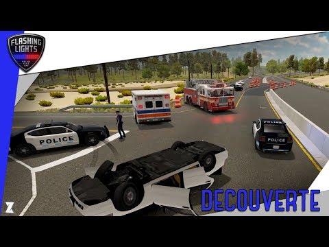 🚨 Flashing Lights | Un simulateur de Police / Pompiers / Ambulances ! 🚒🚔🚑