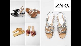 Zara Shoes Women Sandals Colle…