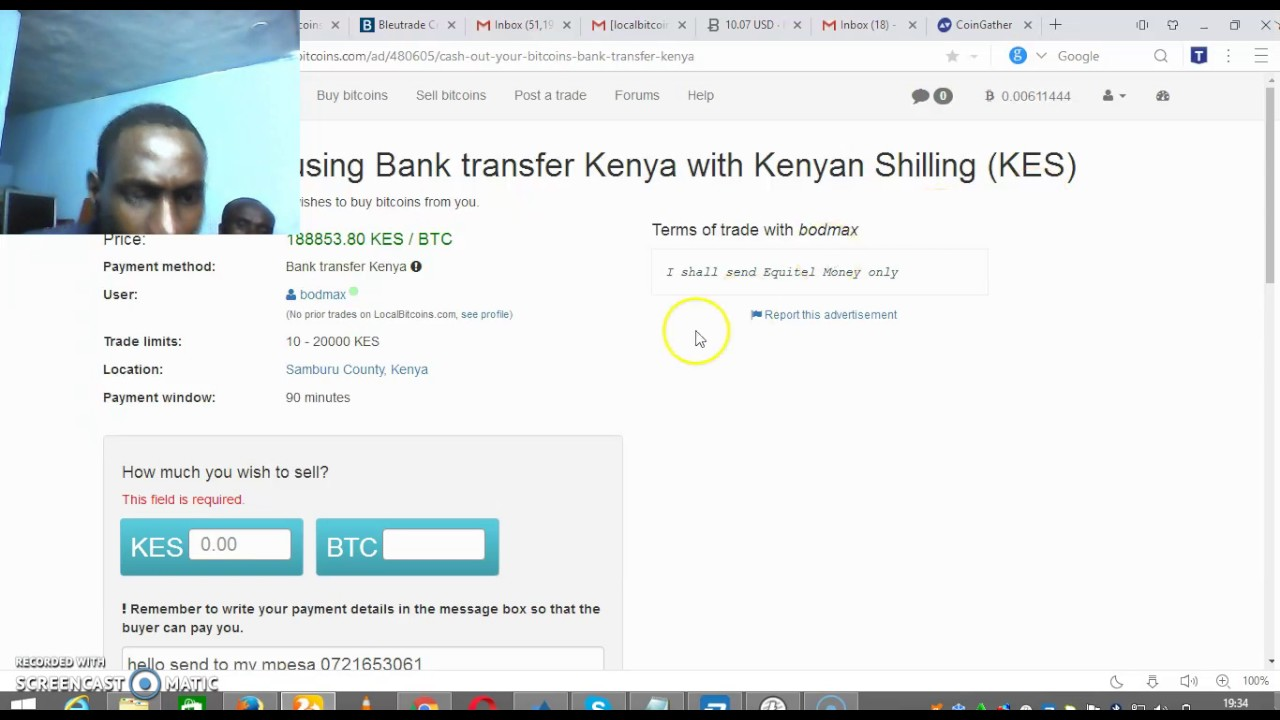 How To Sell Bitcoins In Kenya