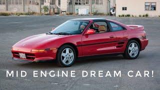My 1993 Toyota Mr2 SW20   90's Mid Engine Dream Car