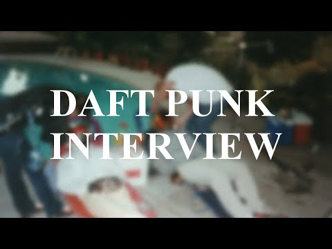 Daft Punk Discovery Interview (Rare HQ Version)