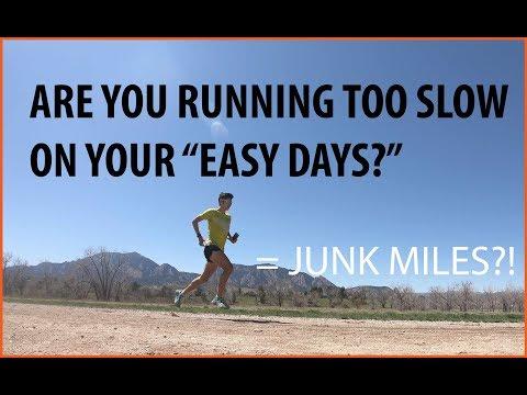 RUN SLOW TO RUN FAST! EASY DAY RUNNING