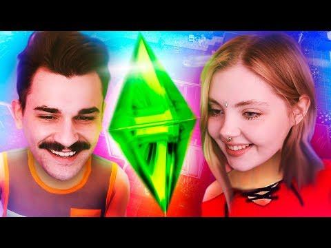 Юлик и Дарья Каплан в Sims 4 .