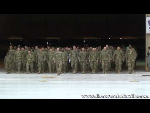 Fort Campbell Welcome Home Ceremony for the 159th Combat Aviation Brigade