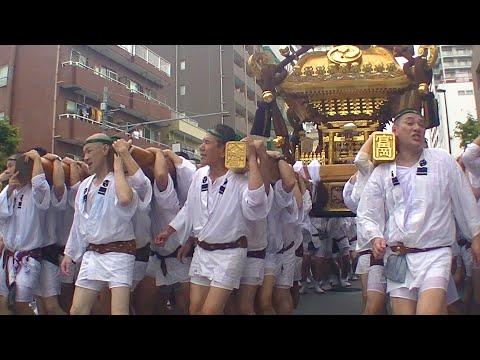 平成30年 深川八幡祭り(富岡八幡宮例祭) 二の宮 神輿渡御