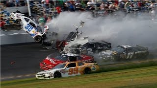 Аварии на гонках GT TOUR, NASCAR и на Формуле 1.