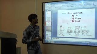 RIVETES AND RIVETED JOINTS (PPT) in Hindi, Ashutosh in Lucknow C.T.I/A.T.I