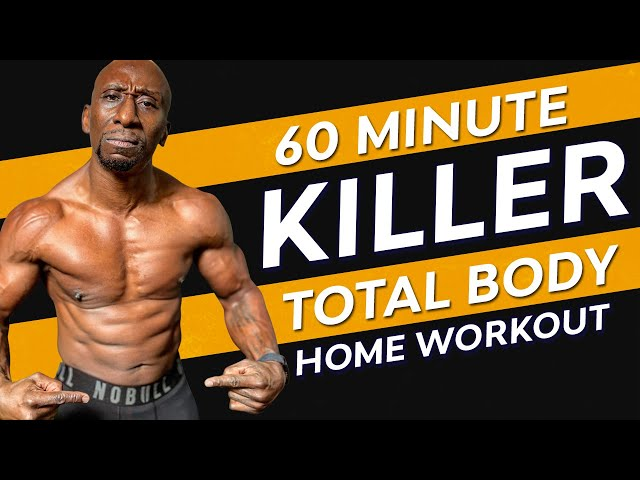 60 Minute Killer Total Body Home Workout - New Year Circuit