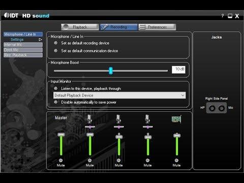 IDT DEFINITION WINDOWS HP 7 AUDIO TÉLÉCHARGER GRATUIT HIGH CODEC POUR