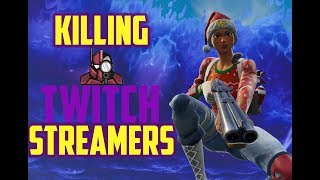 Killing Twitch Streamers with their Reactions! EP 3 - Fortnite Battle Royale - 1700+wins