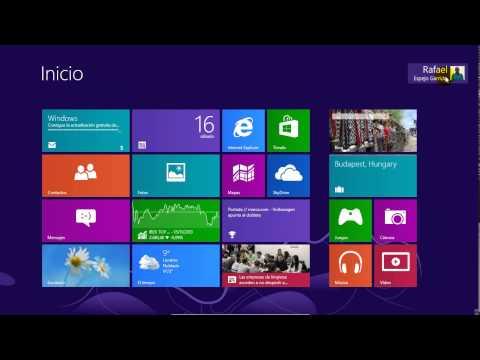 Cómo crear usuarios en Windows 8