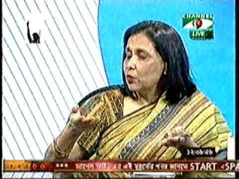 DU Prof. Dr. Mohsina Amin on freedom of speech, biased media (03.03.03)