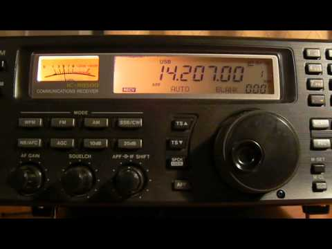 14207khz,Ham Radio,OX5YL(Greenland) 17-39UTC.