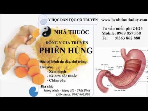 Chứng khó tiêu ở dạ dày và đường ruột viêm dạ dày đại tràng tá tràng hang vị