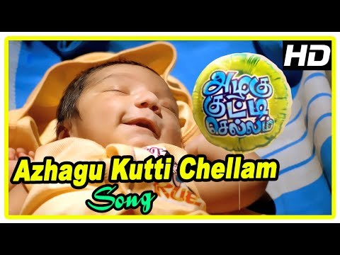 Azhagu Kutti Chellam Scenes   Title Credits   Azhagu Kutti Chellam song   Intro to the families