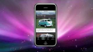 VW Bus - The Essential Buyer's Guide iPhone App Demo (Commentary by marque expert: Richard Copping)