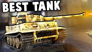 The BEST TANK Of World War 2 On The Rotterdam Map! (Battlefield V Beta Squads Gameplay)